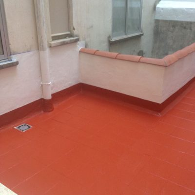 Impermeabilización terraza 2