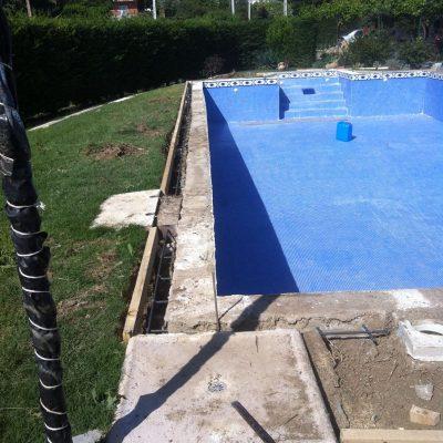 Reforma piscina completa