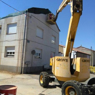 impermeabilización fachada casa