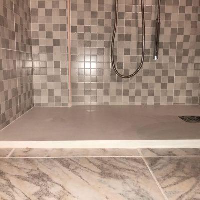 instalación plato ducha
