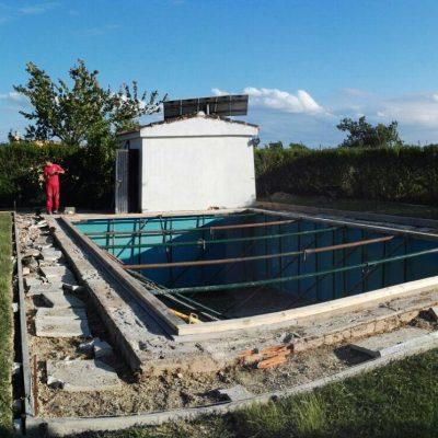 slider reparación piscina